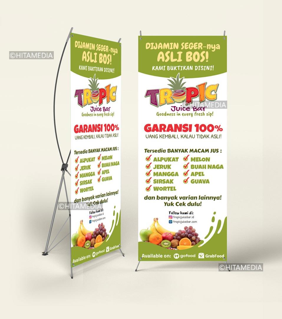 portofolio Bikin Banner Tegal