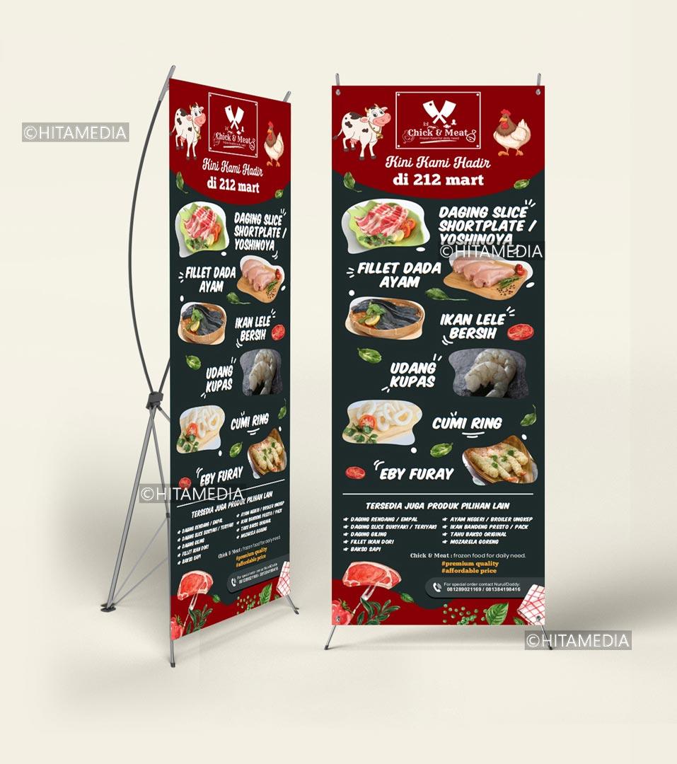 portofolio Biaya Jasa Buat X Banner