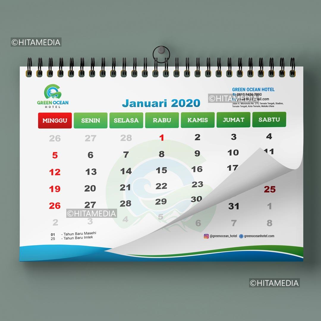 portofolio Harga Buat Desain Kalender