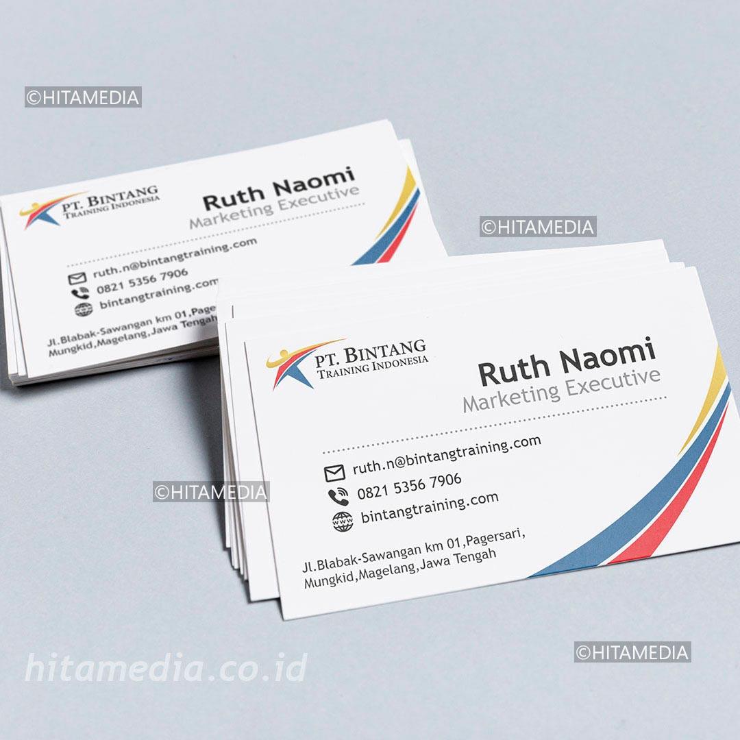 portofolio Harga Biaya Membuat Kartu Nama