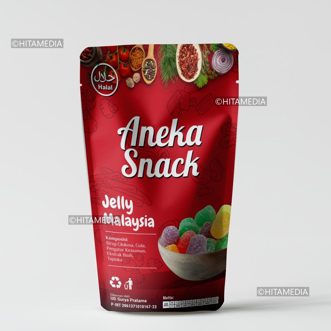 portofolio Harga Cetak Plastik Kemasan Snack
