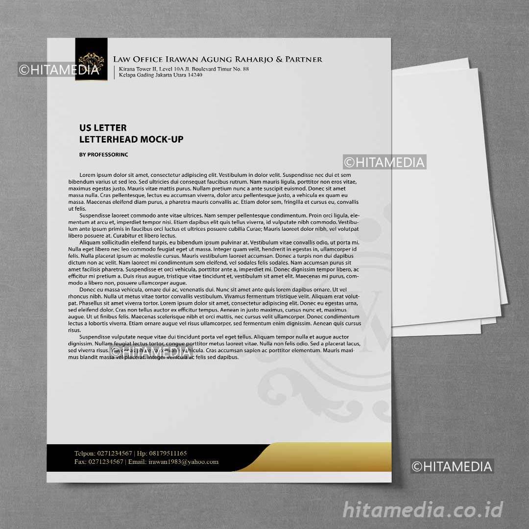 portofolio Harga Cetak Kop Surat 2021