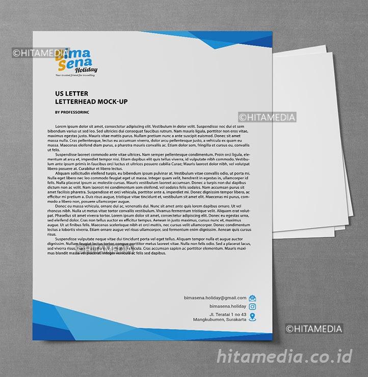 portofolio Harga Cetak Kop Surat 1 Rim 2021